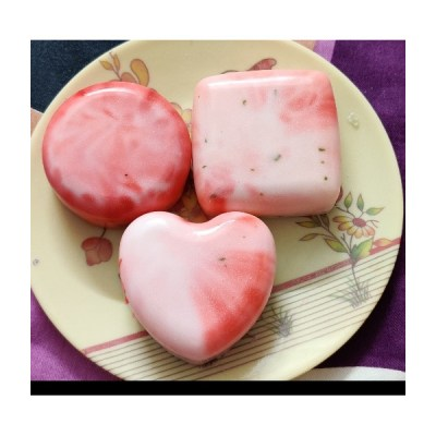 Handmade organic Goat Milky Rose soap