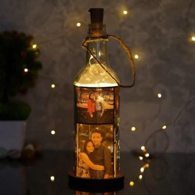 Bottle with LED Light