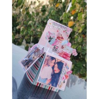 Pop up card box