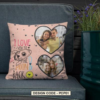 personalized premium cushion, customised gifts, galific gifts