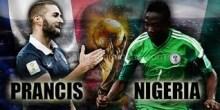 Prancis vs Nigeria