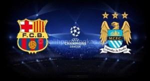 Prediksi Bola Jitu : Barcelona Vs Manchester City 19 Maret 2015
