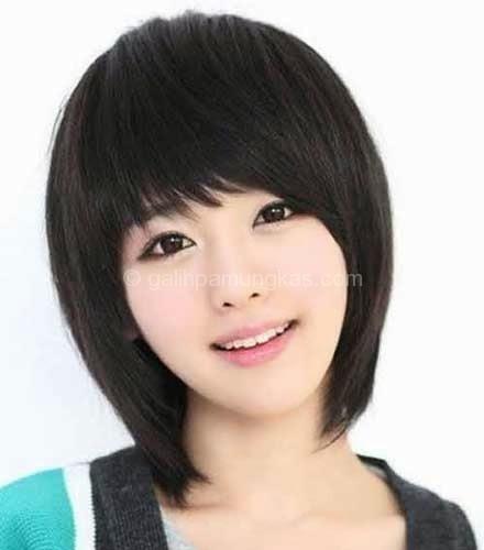 Model rambut pendek