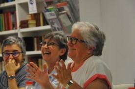 Las risueñas M. Antònia, Montse y Tere