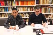 Manolo Juárez y Jordi Julià