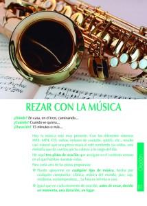 Hoja verde de Misa Dominical: Rezar con la música