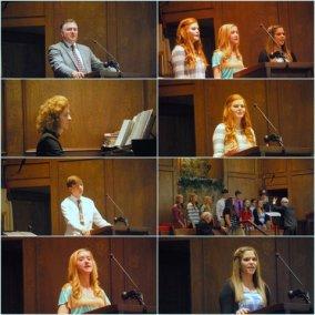 GBC Ambassadors Ensemble collage