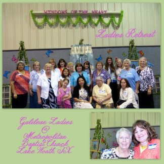 Ladies Retreat Collage