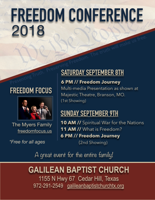 Freedom Conference 2018