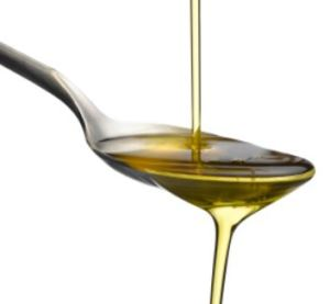 spoon of oil