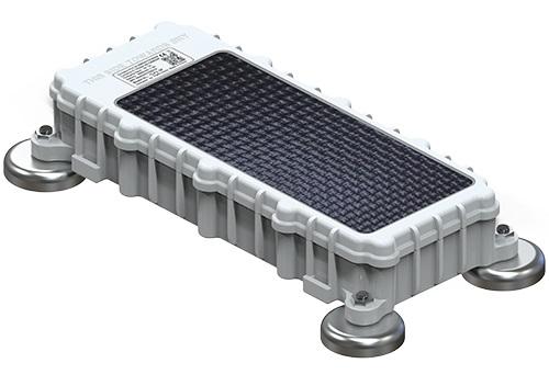 Localizador batería de carga solar y bluetooth