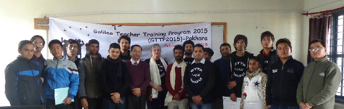 Participants at the GTTP 2015 Nepal programme.