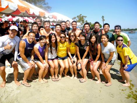 Alumni photo at Long Beach 2012
