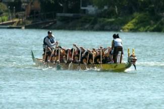 A boat at Treasure Island 2007