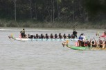 The top crew races at Youth Race 2014