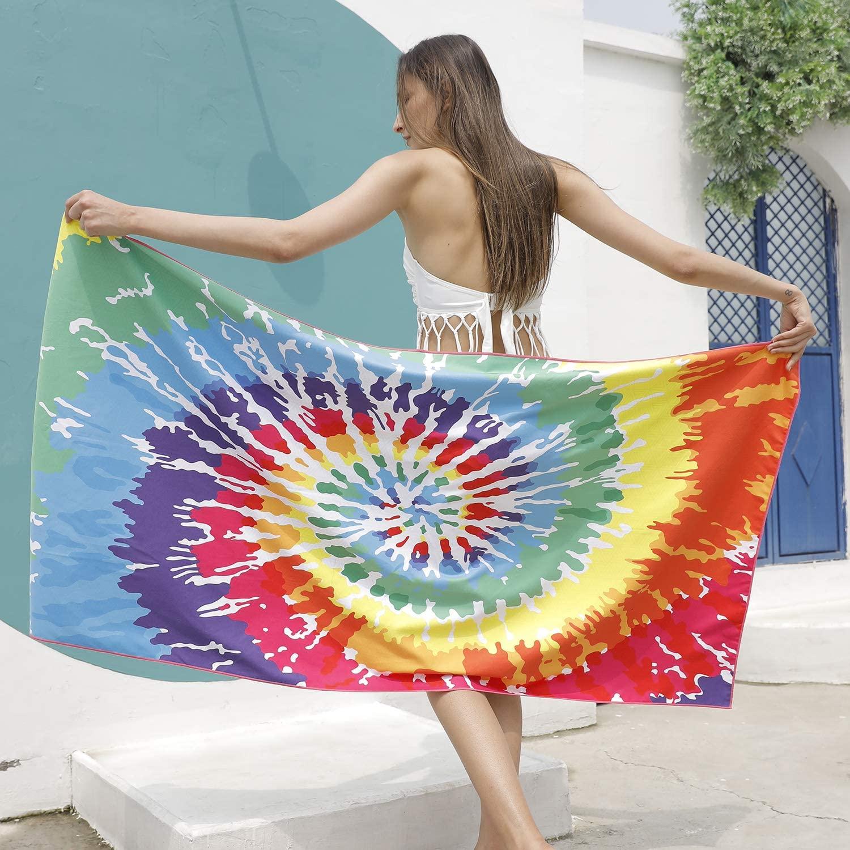 Custom Print Microfiber Beach Towel