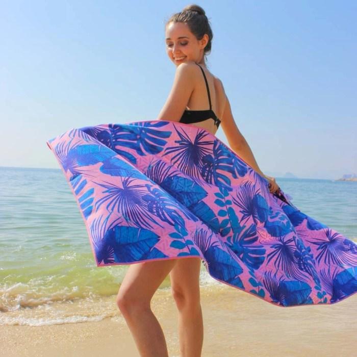 personzalized beach towel