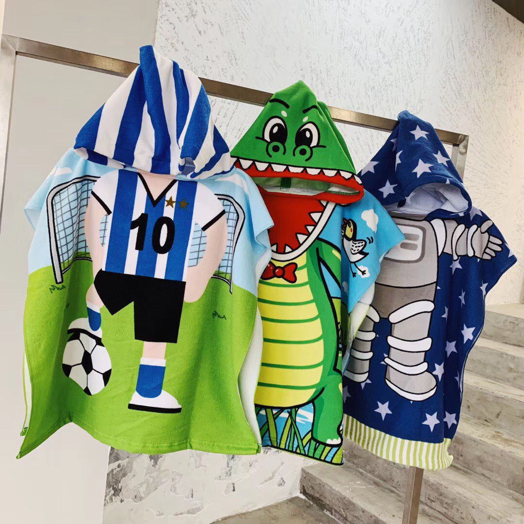 cartoon beach towel
