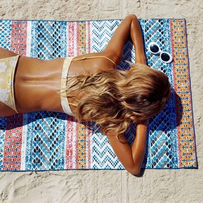 print beach towel