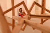 בתערוכה של מחמוד קייס