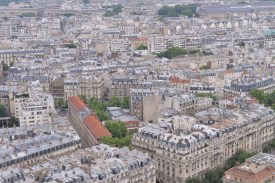 הנוף ממגדל אייפל