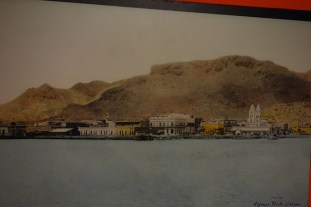 Old museum photo of Guaymas waterfront