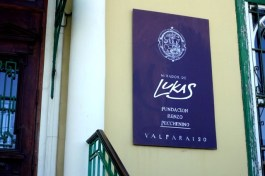 Lukas gallery sign