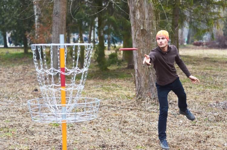 Перший в Україні стаціонарний диск-гольф парк з'явився у ...