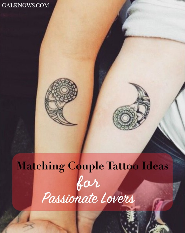 Anniversary Tattoo Ideas : anniversary, tattoo, ideas, Matching, Couple, Tattoo, Ideas, Passionate, Lovers