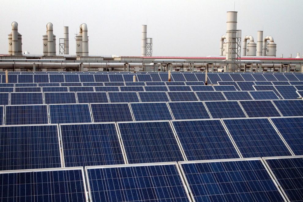 Yingli Solar in Baoding City, China.