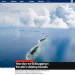 Guardian Feature – Tuvalu's Sinking Islands