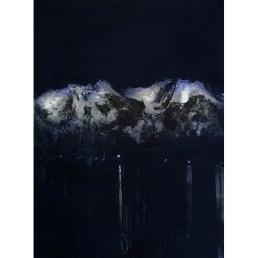 Fjordnatt, Etching, edition of 50, 23.5 x 17.6cm