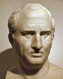 Marcus Tullius Cicero, Famous Roman Defense Lawyer. Roman law addressed voluntariness & the involuntary statement.