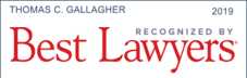 Thomas Gallagher Best Lawyers logo 2019