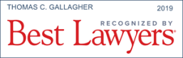 Thomas Gallagher Best Lawyers logo 2019