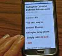 Gallagher Criminal Defense answers Minnesota criminal law questions, call 612 333-1500