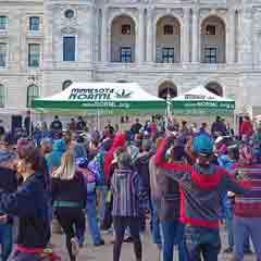 Marijuana legalization at the Capitol. Minnesota NORML