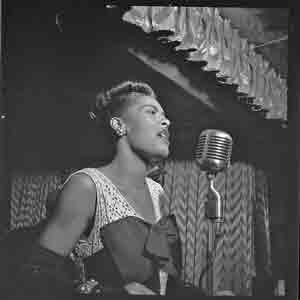 "Billie Holiday: ""Ain't nobody's business if I do."""