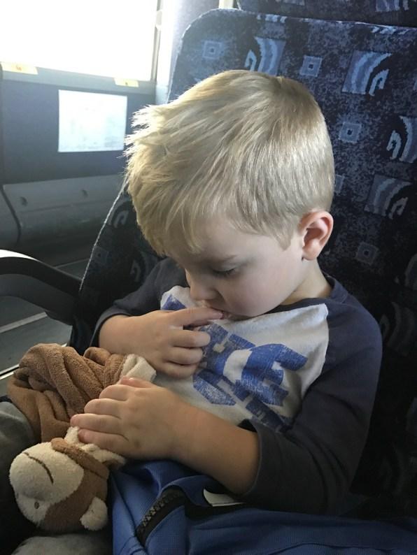 Sleeping on the shuttle