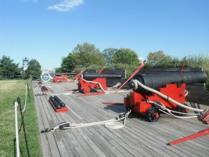 Cannons at Fort McHenry