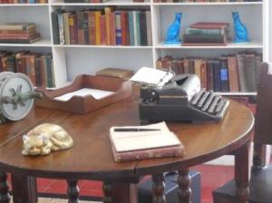 Ernest Hemingway's writing studio