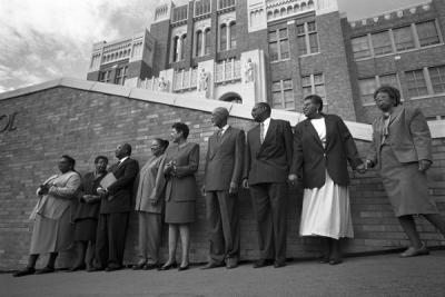 little rock 9 50 years later The little rock nine: 50 years later  see current portraits of seven of the little rock nine and listen to remembrances of their experiences as the first african americans to enroll in the previously segregated central high school in little rock, arkansas in 1957.