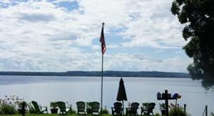 The Adirondack Chairs at Harren Brook Inn