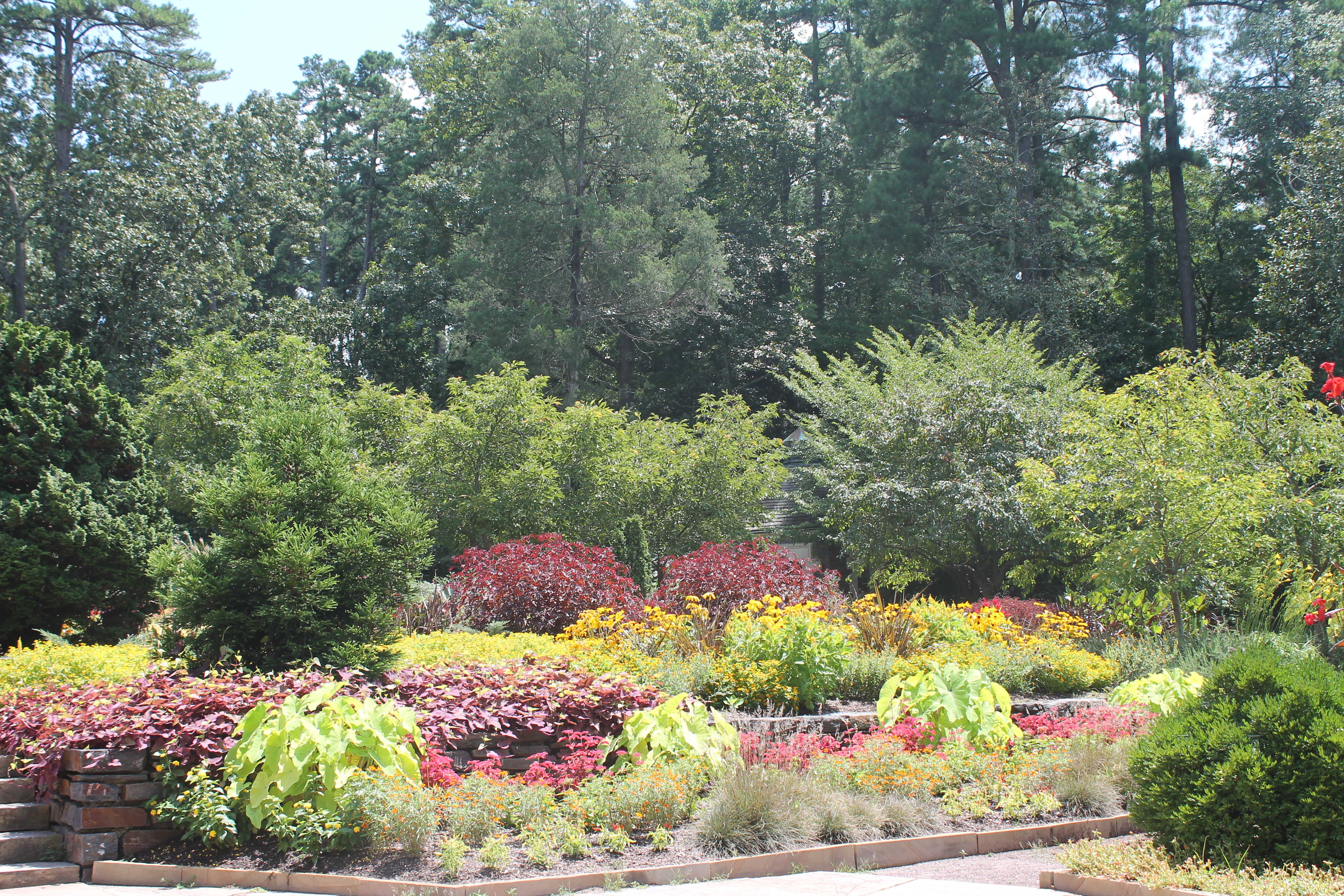 The wildlife garden in the h l blomquist garden of native plants - Colorful Blooms At The Gardens