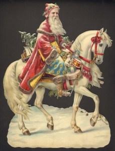 Santa on Horse.