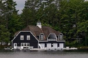 Muskoka Boat House Photo by Larry Wright