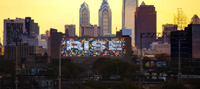"Philadelphia Mural Arts 30th Anniversary Recognized With Exhibit ""Beyond The Paint."""