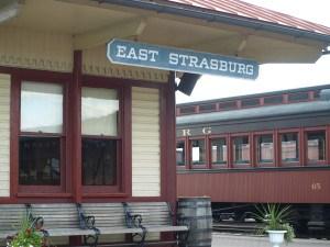 The East Strasburg Railroad Station