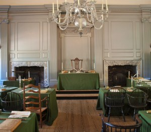 The Independence Hall Assembly Room.
