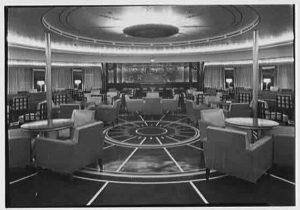 First Class Smoking Lounge